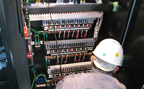 機器用電源工事