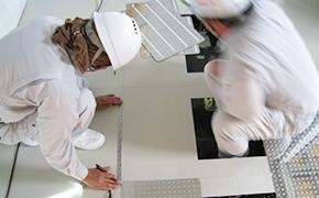 免震装置設置工事